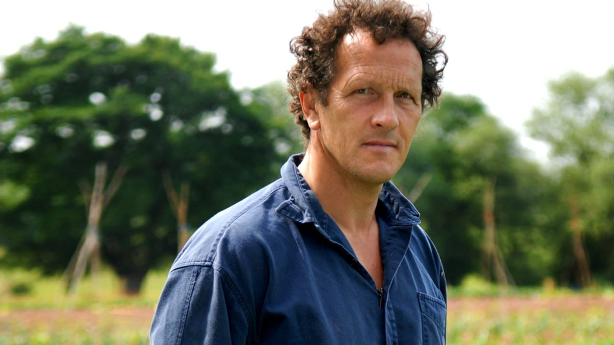 Working with Monty Don (a dream, obviously)